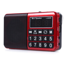 L-238SW Multifunctional TF Card USB Speaker Portable FM / MW / SW Music Player