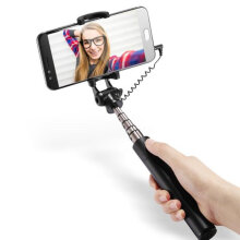 Vivan STX Foldable wired selfie Tool Black Black