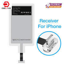 DELIVE Qi iPhone6/6s Wireless Charger Receiver Charging Adapter Receptor For iphone 7/7P For iphone