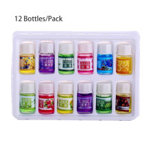 TOWER PRO 12 Bottles/Pack 3ml Natural Essential Oil For Aromatherapy Humidifier Purifier Multicolor