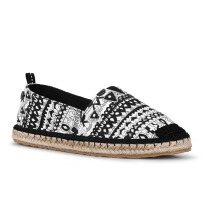 Sakroots Ella Slip On Black & White One World