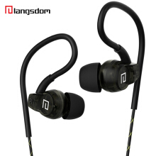 Langsdom SP80A Earphones waterproof sports Bass Stereo Headset for iPhone xiaomi meizu Samsung