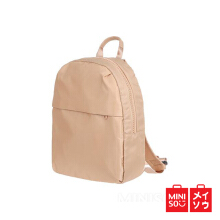 Miniso Official Fashionable Backpack Apricot (4199 MN) Orange