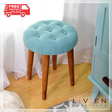 LIVIEN Furniture - Kursi Bangku - Alicia Stool