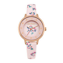 Cath Kidston Pink Floral Alloy Ckl040Crg Women Watch