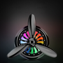 Keymao Metal Air Force No. 3 Car Air Outlet Perfume Colorful Car Fragrance Pendant Auto Accessories