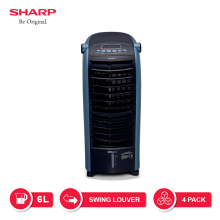 SHARP Air Cooler PJ-A36TY-B - Hitam