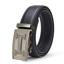 Naviforce 2018 New Designer Automatic Buckle Leather men belt Fashion Luxury belts black