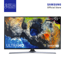 SAMSUNG LED TV 55 Inch Flat Smart Digital UHD - 55MU6100 [SAMSUNG ONLINE PRIORITY]