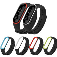 LOLLYPOP Silicone Strap Xiaomi Mi Band 3 Double Color Tali Gelang