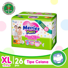 MERRIES Good Skin Popok Pants XL - 26
