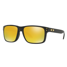 Oakley Sunglass HOLBROOK - OO9244-20 - Polished Black 24K Iridium Size 56