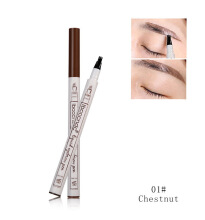Fancy Lomira - ibcccndc liquid eyebrow pencil with 3 head fork shape design-Gratis Ongkir & Bisa COD