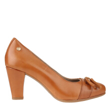 Hush Puppies Meghan Keeper In Tan Leather