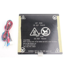 [kingstore]MK3 12V Heatbed 3D Printers Heat Aluminum Plate 3MM PCB Board Accessories Black Black & White