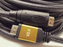 Billionton HDMI to HDMI 4K/2K VERSI 2.0 HQ 25M - Hitam Black