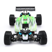 COZIME WLtoys A959-B 2.4G 1/18 Scale 4WD 70KM/h Electric RC Car RTR Off-road Buggy Green