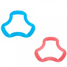 Dr. Brown's A Shaped Flexees Teether  Color Red