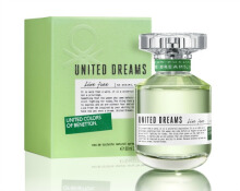 Benetton United Dream Live Free Parfum EDT Wanita [80 mL]