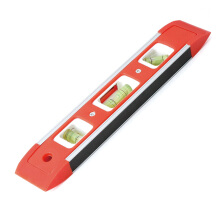 (Tactix) 710051 ONSITE series torpedo level high precision mini flat water ruler 225mm magnetic level measuring tool