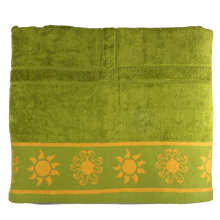 LENUTA Golden Beach Sunshine 90cmx150cm-550gr - Green