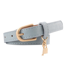SiYing fashion Women's fine belts Decorative wild PU leather belts