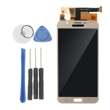 Blitzwolf 15 Types LCD Display +Touch Screen Digitizer Assembly For Samsung Galaxy Series Type 15 White For J7 2015 J700F/M/H/DS