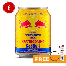 KRATINGDAENG Gold Can 250ml x 6pcs