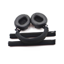 Blitzwolf LEORY Replacement Headphone Headband Case for SONY MDR 1A 1ADAC 1R Headphones Protective Sponge Headband Cover Black