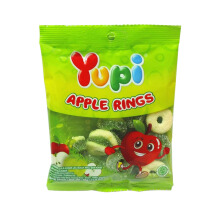 YUPI Apple Rings Mini Bag 45gr x 6pcs
