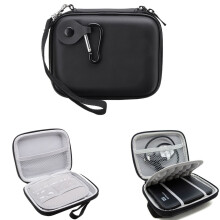 Blitzwolf Black Shockproof Hard Travel Case Bag For WD Seagate External HDD Hard Drive   -  -