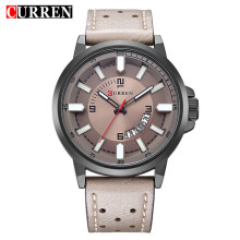 CURREN Top Brand Design Business Quartz Watches Men Luxury Full Steel Wristwatch 8228