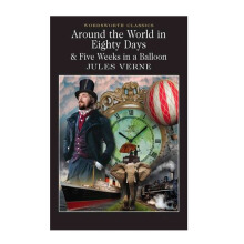 Wordsworth : Around The World In 80 Days / Five Weeks In A Balloon Import Book - Jules Verne  - 9781853260902