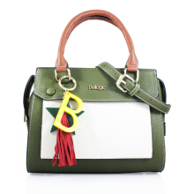 Bellagio Poppy-843 Two Tone Hand Bag