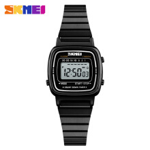 SKMEI Jam Tangan Digital Wanita Strap Stainless Steel 1252 Include Box SKMEI