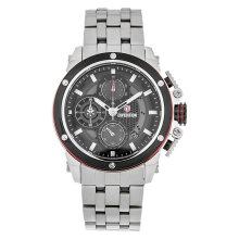 Expedition E 6748 MC BTBBARE Man Chronograph Black Dial Stainless Steel Strap [EXF-6748-MCBTBBARE]