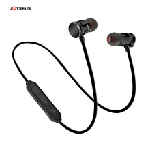 Jantens Magnetic Headset Sport Bluetooth Earphone Wireless Stereo Earbuds With Microphone For IPhone Android