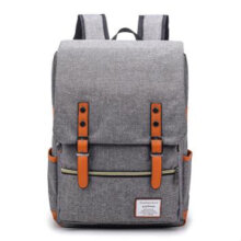 [COZIME] Korean Style Men Backpack Large Capacity Canvas Backpack School Bag Travel Bag Others1