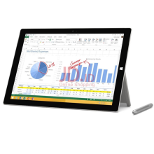 MICROSOFT Surface Pro 3 256GB Intel Core i5 1.9Ghz  8GB RAM - Silver