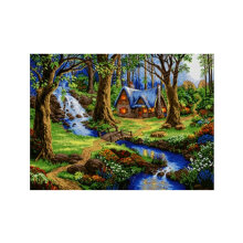 [COZIME] DIY 5D Diamond Painting Cross Stitch Craft Embroidery Painting Modern Decor multicolor