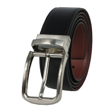 Condotti Leather Long Belt C-13410 Black/Brown Black/Brown