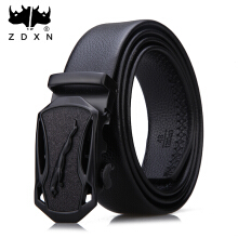 Zdxn men's fashionable leisure belt automatic buckle belt, many styles are optional