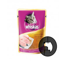 WHISKAS 85 gr adult chicken and tuna