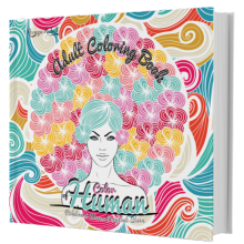 ADULT COLORING BOOK: COLOR OF HUMAN - Ranggi Ariliah