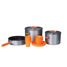 Firemaple Feast 6 Cooking Set Silver