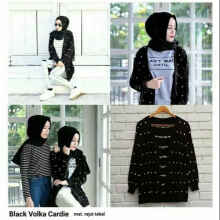 Black Volka Cardy - Black - All Size