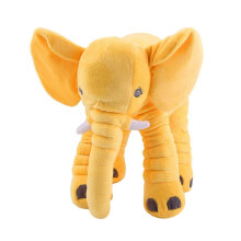 [kingstore] Stuffed Animal Cushion Kids Baby Sleeping Soft Pillow Toy Cute Elephant Cotton Grey  28x33cm