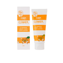 QYO QYO TANGERINE BRIGHT+MOIST FOAM CLEANSER 100ml