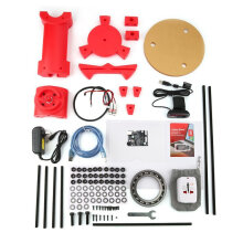 [kingstore]3D DIY Laser Desktop Scanner Plate Kit w/Adapter Object For Ciclop Printer Red Red