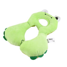 [COZIME] Cartoon Children Head Neck Protecting Support Headrest Travel Car Seat Pillow green
